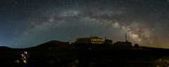 Milky Way Over Standard Mill Panorama (Jeffrey Sullivan) Tags: milky way arch bow dark sky starry night astrophotography bodie state historic park abandoned wild west ghost town photography workshop canon eos 6d digital photo copyright 2018 jeff sullivan july 7