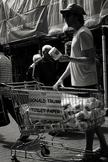 Take a dump on trump.