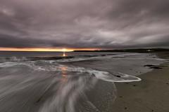 Skaill Bay Sunset - Orkney (dawnlb83) Tags: skaill orkney scotland scottishcoastline sunset sunrise rocks sea antlantic ocean beach coast longexposure landsc seascape moody seaweed