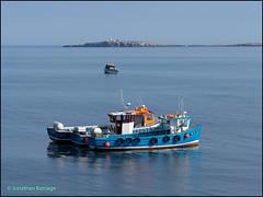 Leaving Harbour (geospace) Tags: farneislandstrip seahouses glad tidings billy shiel farne innerfarne