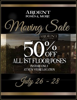 Ardent Poses & More - Moving Sale!