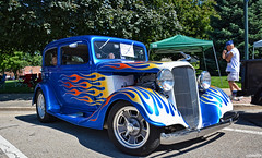 1935 Chevy (Chad Horwedel) Tags: 1935chevy chevy chevrolet classic car flames sycamore illinois