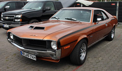 Javelin SST (Schwanzus_Longus) Tags: street mag show hannover german germany us usa america american old classic vintage car vehicle coupe coupé muscle amc javelin sst