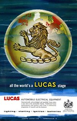 Lucas Advertisement (British Motor Industry Heritage Trust Archive) Tags: lucascollection lucas advertisement socialhistory vintage history theatre arts glyndebourne rsc shakespeare royalshakespearecompany