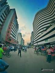 Karwan Bazar, Dhaka (Sagor's) Tags: xiaomi xiaoyi yi4k yi 4k actioncamera actioncam action people person persons structutre structural street streets streetphotography streetphoto streetlight day daylight sky skyscrapper skylight skyscrappers building buildings build dhakacity dhaka road roads life lifestyle candid awesome nice fisheye citylife citylight cityscape city citycolour citycolor citycolours design