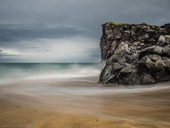 """And all I ask is a windy day"" (katrin glaesmann) Tags: iceland unterwegsmiticelandtours photographyholidaywithicelandtours skarðsvíkbeach snæfellsnes peninsula sea beach longexposure ndfilter"