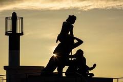 Sunrise Star (NathalieSt) Tags: europe france hérault languedocroussillon occitanie palavas bateau bateaux boat boats borddemer city fishingport leverdesoleil mer nikon nikond750 nikonpassion nikonphotography port sea seaside sunrise ville