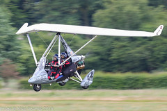 G-CIJO - 2014 build P & M Aviation Quik GTR Explorer, arriving on Runway 26L at Barton (egcc) Tags: 8702 barton cityairport egcb explorer flexwing gcijo lightroom manchester microlight montila pmaviation quik quikgtr weightshift flyuk