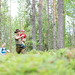 Family walking in the forest-2