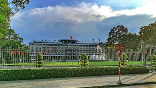 Der Wiedervereinigungspalast von Ho Chi Minh City