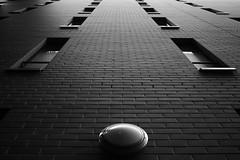 administration (konicus) Tags: wall mauer berlin verwaltung ziegelsteine bricks lampe