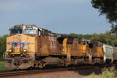 58194 (richiekennedy56) Tags: unionpacific ac44cw sd70m es44ac up5706 up4971 up5411 kansas jeffersoncountyks perry williamstown railphotos unitedstates usa