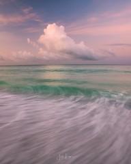 """Out to Sea"" (the_lowe_life) Tags: photography clouds morninglight sirui nisifilters 2470 tamron nikon explore travel vacation gulfofmexico emeraldcoast santarosabeach florida seascape sunrise"