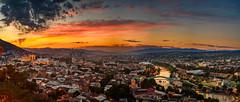 Tbilisi- Georgia (aliffc3) Tags: tbilisi georgia nikond750 zeiss50mpf2 panorama sunset sunsethour