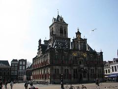 Hôtel de Ville (archipicture71) Tags: paysbas hollande delft hotel ville mairie donjon renaissance stadhuis city hall netherlands markt market