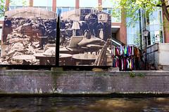 Clothing Wall Art _3438 (hkoons) Tags: northsea westerneurope cityscape amsterdam atlantic capital city europe european holland netherlands canals coast coastal dykes ocean sea tidal urban waterways