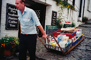 Flashbacks to 1997: Local transport in Clovelly
