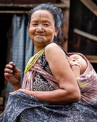 GSCF7151 (Deepak Kaw) Tags: apatani ziro arunachal india portrait people composition colours smile culture tradition fujifilm