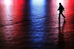 Red-blue-red (Birdhouse camper) Tags: copenhagen denmark color silhouette street fujifilm fuji xt2 fujixt2