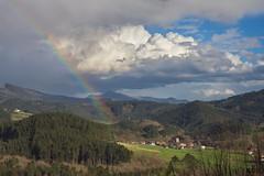 Goikoelexalde (Iskander Barrena) Tags: larrabetzu bizkaia basquecountry txorierri nature landscape rainbow arcoiris paisaje euskalherria euskadi