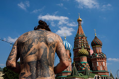 Moscow, 2018. (Khalil Snaps) Tags: 2018 russia red square tatoo christ