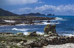 Piedra dos Namorados... ¿Los veis ahí besándose? (Monroy Jose) Tags: enemorados simbolismo leyenda misterio romántico amor
