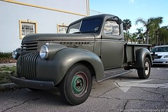 1945 Chevy (robtm2010) Tags: mountdora florida usa canon canont3i t3i truck pickup chevrolet chevy gm generalmotors motorvehicle vehicle 1945