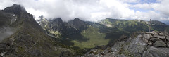 Zelené pleso (Marek Hlaváč) Tags: tatra mountains hory tatry slovakia slovensko sky rock cross canon eos 6d ef20mm f28 usm landscape grass