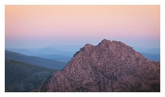 Tryfan at dusk (Ollie Pocock) Tags: evening nationalpark ogwen mountain mountainscape northwales wales uk glow dusk sunset snowdonia tryfan mountains