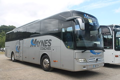 Maynes Coaches: N80GSM Mercedes Tourismo (emdjt42) Tags: n80gsm maynescoaches beamish mercedes mercedestourismo