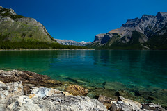 Lake Minnewanka, Banff National Park (Chris-Creations) Tags: 20180706227 canada minnewanka clear vacation