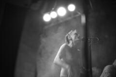 . (m_travels) Tags: kodaktmax3200 nightphotography blackandwhite плёнка film 35mmfilm grain dark moody cool style analog argentique concert music artist singer goth dnalounge performance dasich rock band electronic