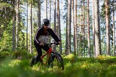on a mtb in forest 5 (VisitLakeland) Tags: finland lakeland mtb summer biking cycling forest kesä luonto maastopyörä maastopyöräily nature outdoor