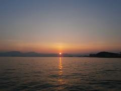 today's sunrise (Kero-ppi) Tags: sky sea sunrise