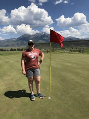 2018_RTR_Montana All Populations 5 (TAPSOrg) Tags: taps tragedyassistanceprogramforsurvivors tapsretreat retreat allpopulationsretreat westyellowstone montana 2018 military outdoor vertical woman posed golf