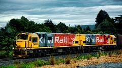 Kiwi Riail (Miradortigre) Tags: train newzealand nuevazelanda locomotive kiwirail tren trenes locomotora ferrocarril