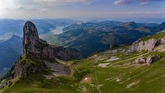 Wändlispitz (Silvan Bachmann) Tags: swiss suisse schwyz mountain lake view alp sky sun breathtakinglandscape ngc nature landscape switzerland wändlispitz hiking fluebrig flickr colors drone scenery schweiz