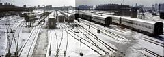 Santa Fe Coach Yard, Chicago, 1968 (LSallee) Tags: railroad train passenger santafe coachyard chicago 18thstreet