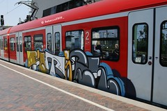 RÄTSEL (rebecca2909) Tags: cologne köln db deutschebahn train graffiti graff rätsel