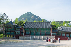 Gyeongbokgung Palace (buddhistfunk) Tags: seoul korea rok south palace museum military guards people asian asia asians gyeongbokgung busan beach temple buddhist buddhism love parade monk monument lantern lanterns skyline
