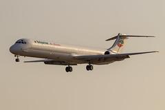 McDonnell Douglas MD-82 LZ-LDP Bulgarian Air Charter (msd_aviation) Tags: md82 mcdonnelldouglas maddog bulgarianaircharter lzldp md80 bcn lebl barcelona elprat airport