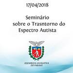 Seminário Internacional sobre Transtornos do Espectro Autista. 17/04/2018