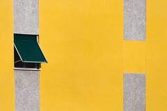1-0 (FButzi) Tags: abstract window building wall geometry geometric minimalism yellow gray