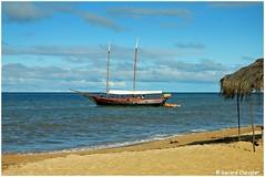 Plage de Guaiú - (Bahia - Brasil) (gerard21081948) Tags: brésil brasil bahia bateau eau rivière réservenaturelle apasantoantonio sable plage forêt tropical océan mer ciel
