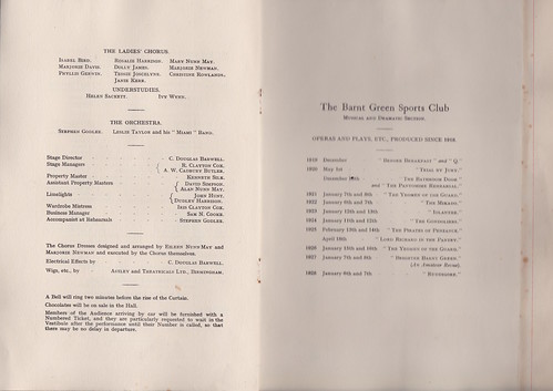 1929: Jan Programme 4