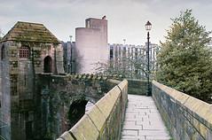 The Wall (Chester) (joshdgeorge7) Tags: chester walls cheshire film pentax sv fujifilm superor 400 architecture roman brick tourist