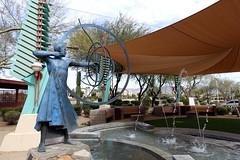 . (Kate Hedin) Tags: frank lloyd wright flw scottsdale spire az arizona city hall monument statue sculpture aiming for mark heloise crista taliesin west phoenix
