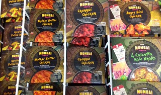 Great range of meals from Iceland Mumbai Streefood Co.