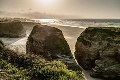 La Mariña Lucense (ccc.39) Tags: galicia lugo costa playa mariña cantábrico mar rocas agua coas seascape sunset sea beach