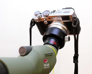 Fujifilm X100F on Kowa TSM-601